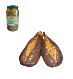 Stuffed Eggplant Glass 600g Al Mashrek                       643700279002