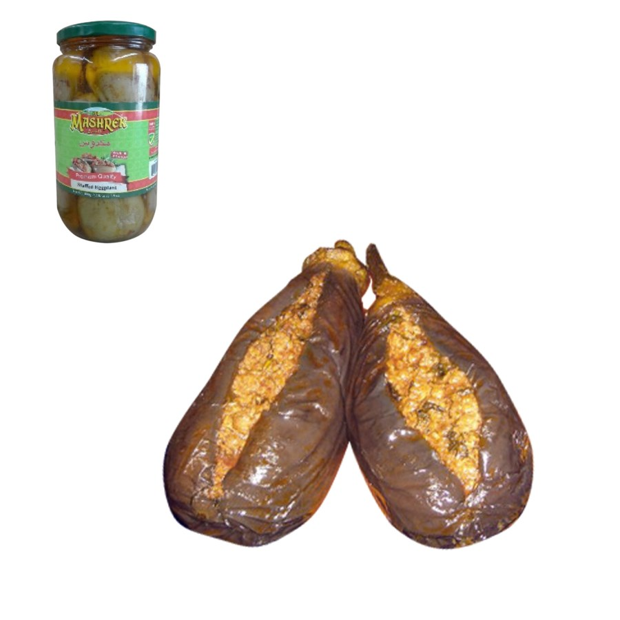 Stuffed Eggplant Glass 600g Al Mashrek                       643700279002