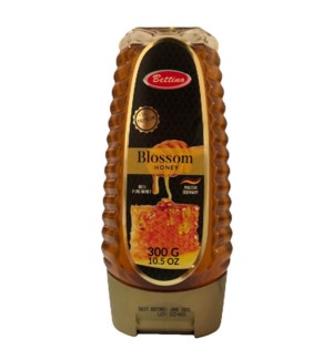 Blossom Honey 100% Pure Squeezable 300g, 10.5Oz Bettino      643700279071