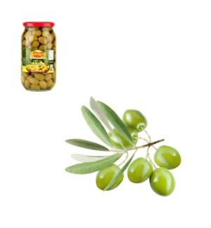 Green Olives 1000g Al Mashrek                                643700170361