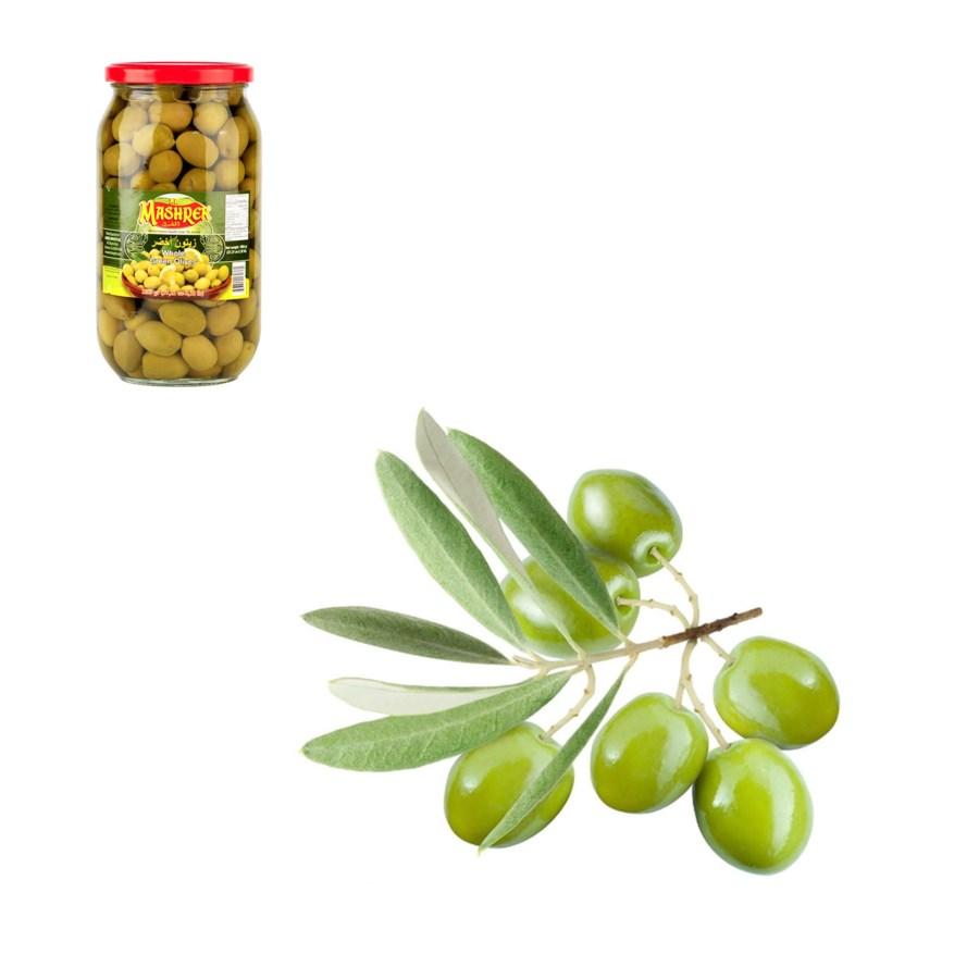 Green Olives 1000g Al Mashrek                                643700170361