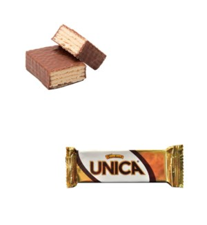 Gandour Unica Chocolate Covered Wafers with Cocoa Cream Fill 528102846712