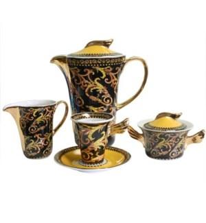 Tea Set 17pc Porcelain                                       1330