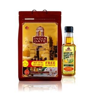 Classic Basmati Rice 10lb India Gate                         690225105378