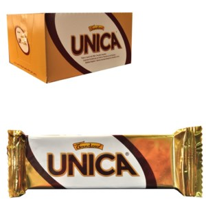 Gandour Unica Chocolate Covered Wafers with Cocoa Cream Fill 2