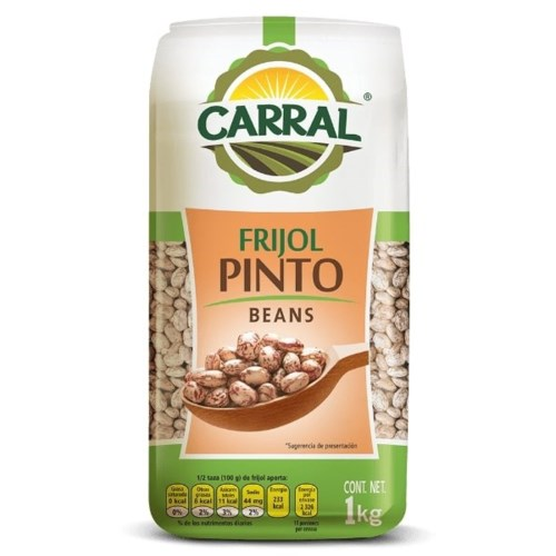 Carral Foods Pinto Bean 2.2lbs 1kg                           750302361608