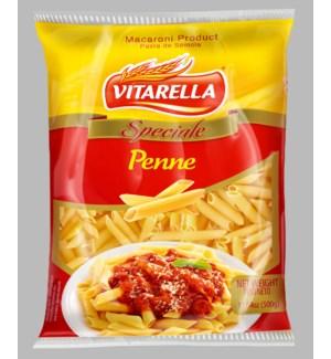 Vitarella Pasta Penne 17.64oz 500g                           810006590180