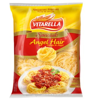 Vitarella Angel Hair Semola 20x17.64oz                       810006590210