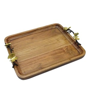 Rect.Tray Wood 13x11in                                       403352401001