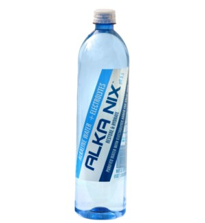 Alka Nix Alkaline Water 9.5pH 33.8floz 1L 18 bottles         865068000108