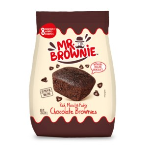 Chocolate Brownies (8) with Real Belgian Chocolate 200g PDQ  841103780003
