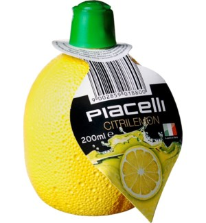 Piacelli Lemon Juice Concentrate 6.76floz 200ml              900285901880