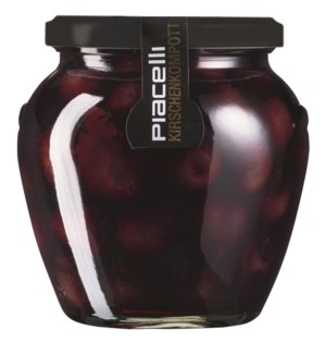 Piacelli Compote cherry in syrup 550g                        900285901902