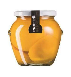 Piacelli Compote peach in syrup 560g                         900285901903