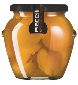 Piacelli Compote apricot in syrup 570g                       900285901905