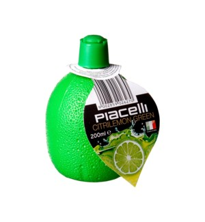 Piacelli Lime Juice Concentrate 6.76floz 200ml               900285902627
