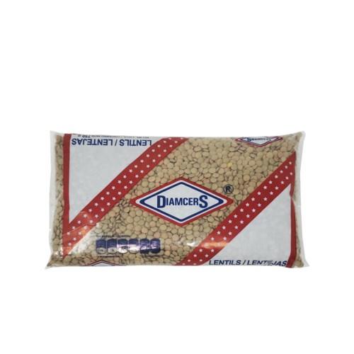 """Lentil Large #2 in Bag 750g """"Diamcers""""                       750120831304"""