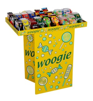 Woogie Car with sugar pearls 40 pieces display               900285903418