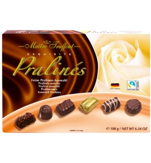 Maître Truffout Assorted pralines exquisite 180g             900285903756