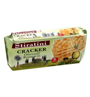 Stiratini Crackers with olive oil  rosemary 250g             900285903841