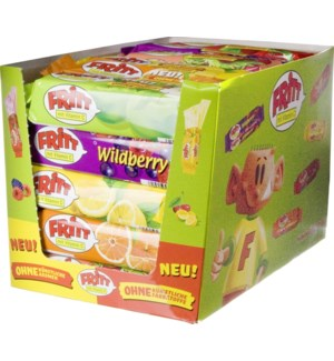 Fritt Chewy candies mixed box 30x70g                         400060756220