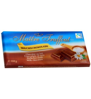 Maître Truffout Milk chocolate 100g                          900285904252