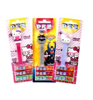 PEZ Dispenser mixed box 25,5g                                904440084100
