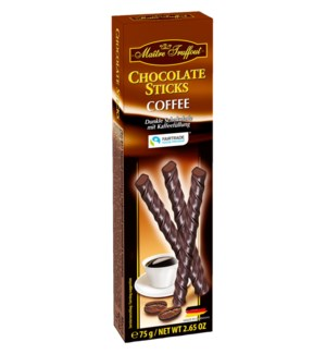 Maître Truffout Dark Chocolate Coffee Sticks 2.64oz 75g      900285905382