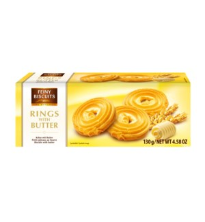 Feiny Biscuits Rings with Butter 4.5oz 130g                  900285904966