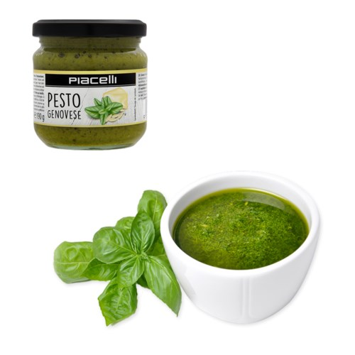 Piacelli Antipasti pesto with basil - pesto genovese 190g    900285905841