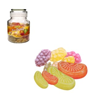 Woogie Candies with fruits mix flavour 300g                  900285906470