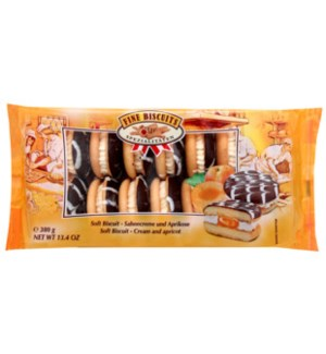 Fine Biscuits Jaffa sandwich cream-apricot 380g              900285906790