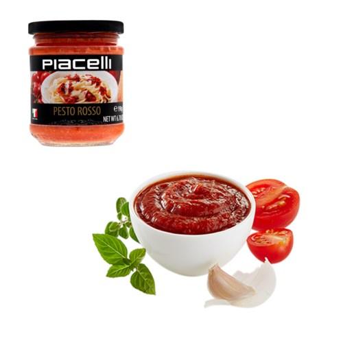 Piacelli Antipasti pesto with tomatoes - pesto rosso 190g    900285907140