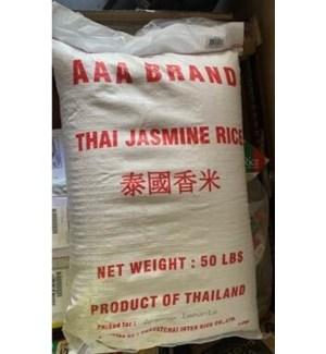 Jasmine Rice Thailand 50lb                                   643700340627