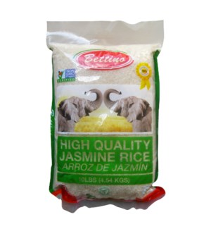 Rice Vietnam Jasmine 5lb Bettino                             643700280121