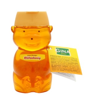 Gina Blossom Honey Bear Shaped  8.8oz 250g                   900285907837