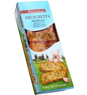 Stiratini Bruschetta garlic 240g                             900285908036