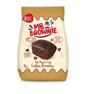 Coffee Brownies (8) 200g PDQ Mr Brownie                      841103789233