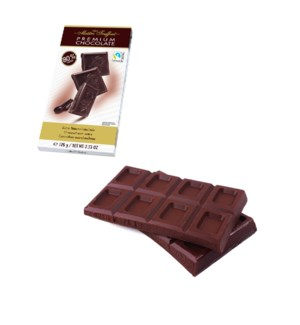 Maître Truffout Premium extra dark chocolate 80% 100g        900285908501