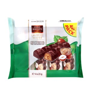 Feiny Biscuits Wafer with milk-hazelnut cream filling 4x23g  900285908696