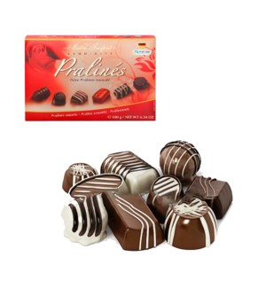 Maître Truffout Assorted pralines red 180g                   900285908727