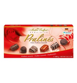 Maître Truffout Assorted pralines red 400g                   900285908729