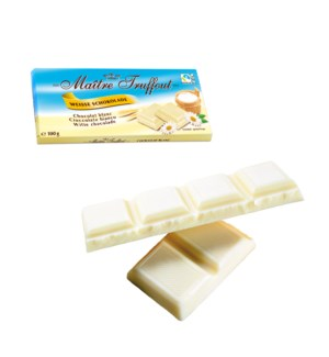 Maître Truffout White chocolate 100g                         900285907767