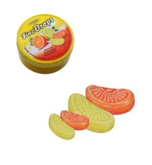 Woogie Candies with lemon- and orange flavour 175g           900285909317