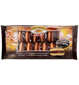 Fine Biscuits Jaffa Sandwich chocolate cream-cherry 380g     900285909387