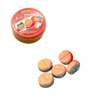 Woogie Candies with orange flavour 2 200g                    900285909053
