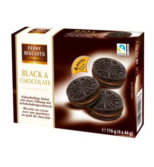 Feiny Biscuits Chocolate Sandwich with Cocoa Cream Filling 6 900285910207