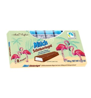 Maître Truffout Flamingo milk chocolate with milk-cream fill 900285910455