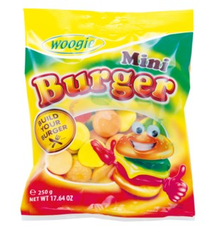 Mini Burger 250g Woogie                                      900285910449