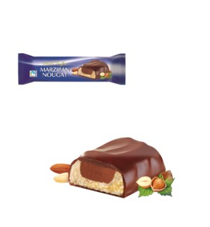 Maître Truffout Marzipan-nougat bar with milk chocolate 75g  900285910563